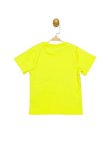 Batman  Lisanslı Çocuk Tişört 17312 Sarı